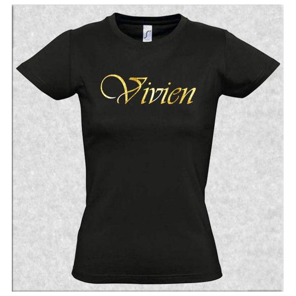 c45191747b Egyedi névvel ellátott fekete női póló - Nincs találat - Ruhára ...