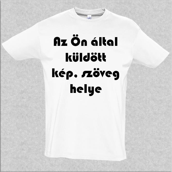 7f3285701a Egyedi fényképes fekete férfi póló - Egyedi felnőtt póló - Egyedi ...